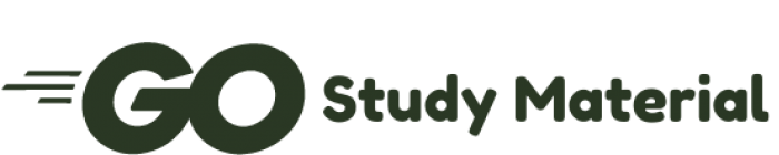go study material logo